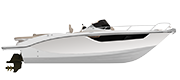 KEY LARGO 27 STERNDRIVE - INBOARD LINE WHITE (gelcoat)
